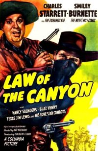 Law of the Canyon poster