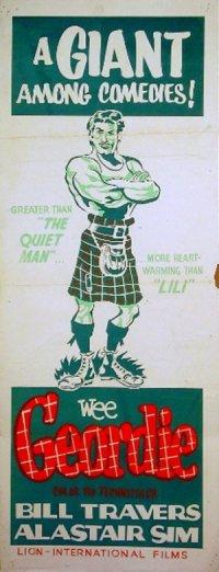 Wee Geordie poster