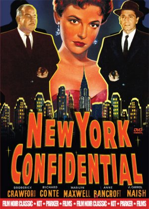 New York Confidential Dvd cover