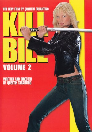 Kill Bill: Vol. 2 Dvd cover