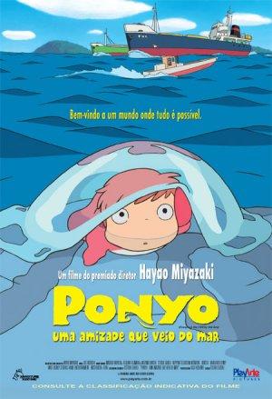 Ponyo en el acantilado 450x659