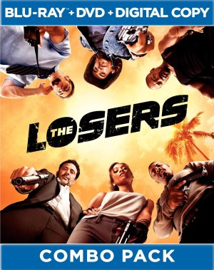 The Losers Blu-ray cover