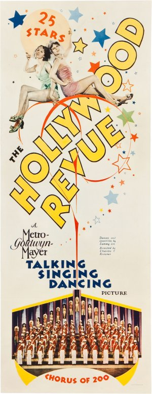 The Hollywood Revue of 1929 1163x3000