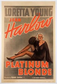 Platinum Blonde poster