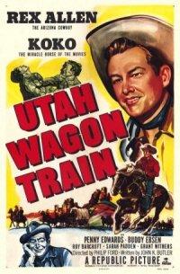 Utah Wagon Train poster