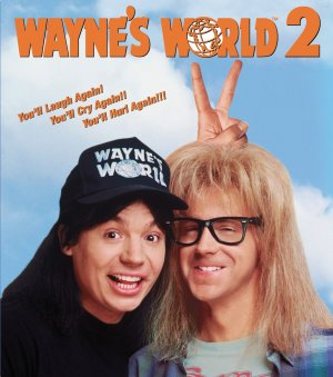 Wayne's World 2 Blu-ray cover