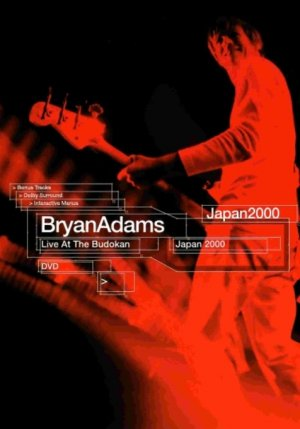 Bryan Adams: Live at the Budokan Cover