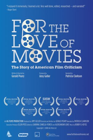 For the Love of Movies: The Story of American Film Criticism 1037x1556