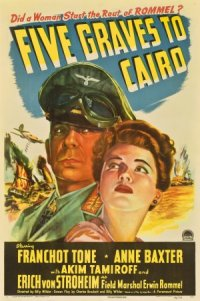 Five Graves to Cairo poster