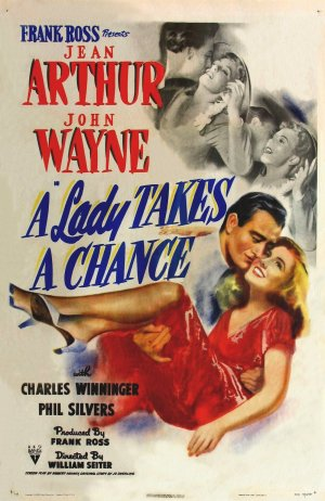 A Lady Takes a Chance Poster