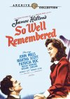 So Well Remembered Cover