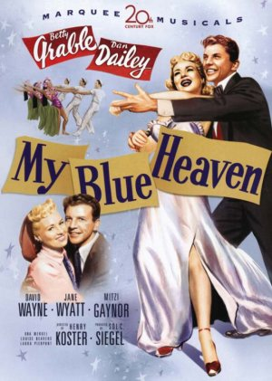 My Blue Heaven Dvd cover