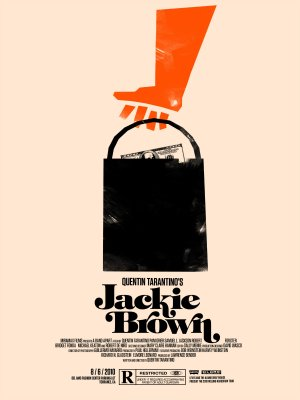 Jackie Brown Homage poster