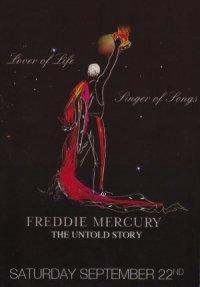 Freddie Mercury, the Untold Story poster