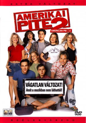 American Pie 2 Dvd cover