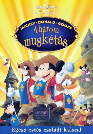 Mickey, Donald, Goofy: The Three Musketeers 1487x2130