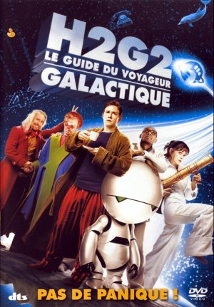 French cover for The Hitchhiker's Guide to the Galaxy
