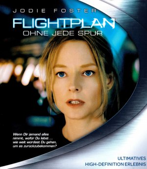 Flightplan Blu-ray cover