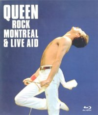 Queen Rock Montreal & Live Aid poster