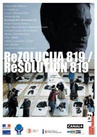 Résolution 819 poster