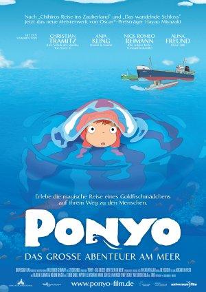 Ponyo en el acantilado 3536x5000