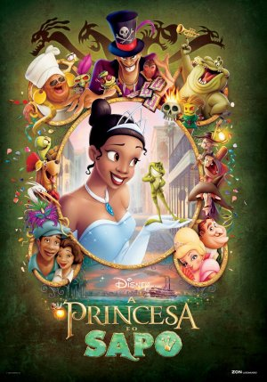 The Princess and the Frog 950x1360