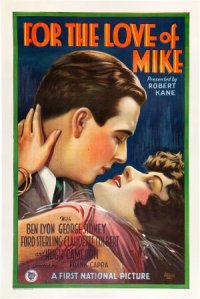 For the Love of Mike poster