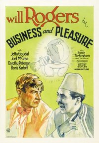 Business and Pleasure poster