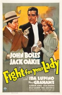 Fight for Your Lady poster