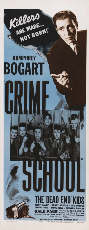 Crime School Re-release poster
