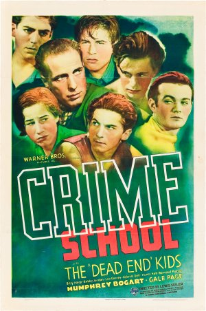 Crime School Theatrical poster
