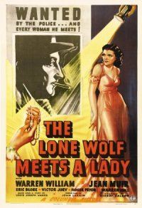 The Lone Wolf Meets a Lady poster