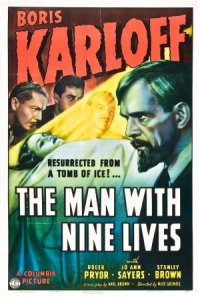 The Man with Nine Lives poster