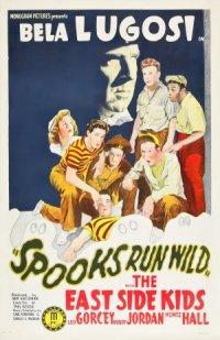 Spooks Run Wild poster