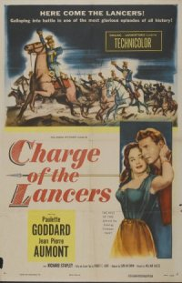 Charge of the Lancers poster