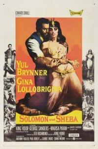 Solomon and Sheba poster