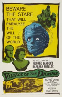 The Village of the Damned poster