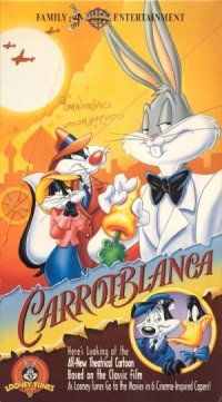 Carrotblanca poster