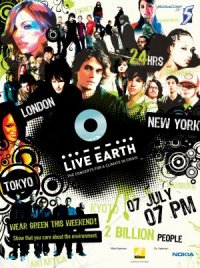 Live Earth poster