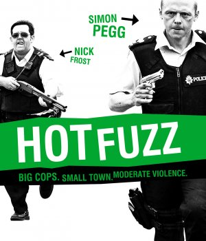 Hot Fuzz Blu-ray cover