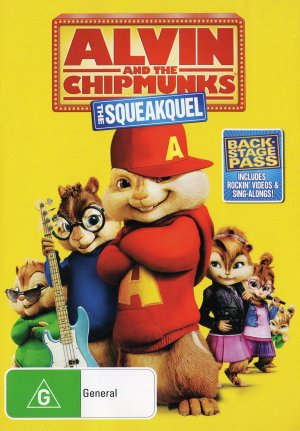 Alvin and the Chipmunks: The Squeakquel 1488x2139