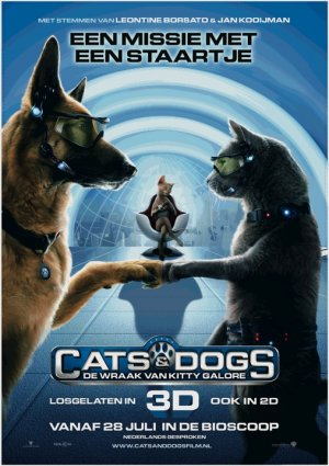 Cats & Dogs - Die Rache der Kitty Kahlohr 507x719