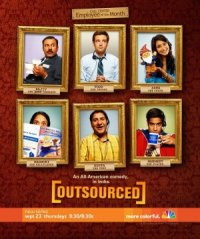 Outsourced poster