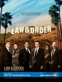 Law & Order: Los Angeles poster
