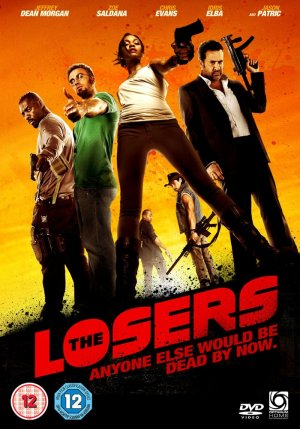 The Losers Dvd cover