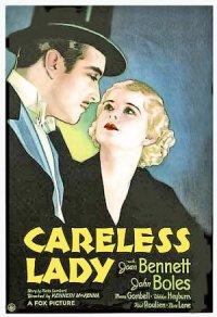 Careless Lady poster