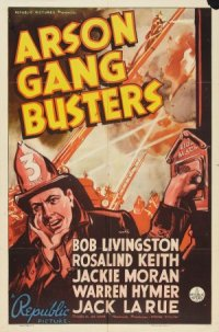 Arson Gang Busters poster