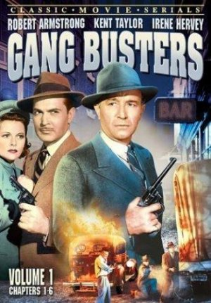 Gang Busters Dvd cover