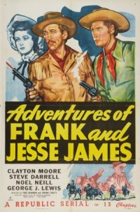 Adventures of Frank and Jesse James poster