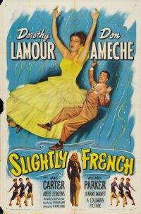 Slightly French poster